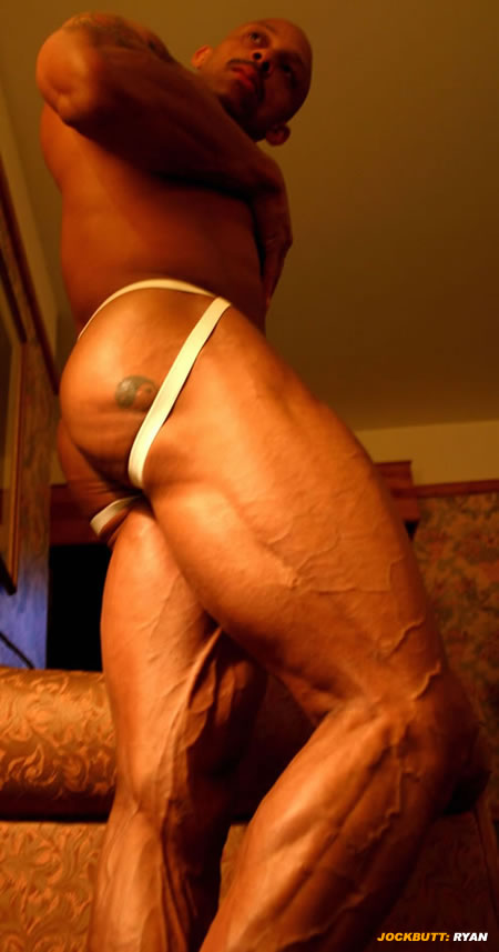 Jockstrap Leg Muscles
