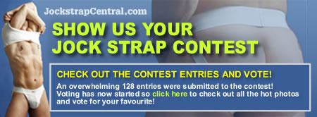 Vote for your favourite jockstrap photo