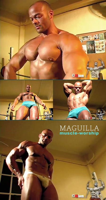 muscle worship stud in a jockstrap
