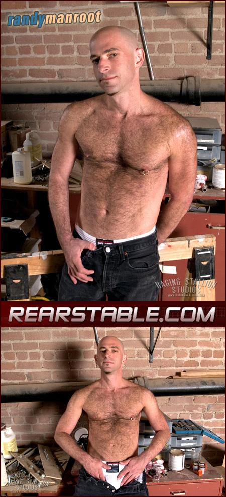 hairy guy in a jockstrap