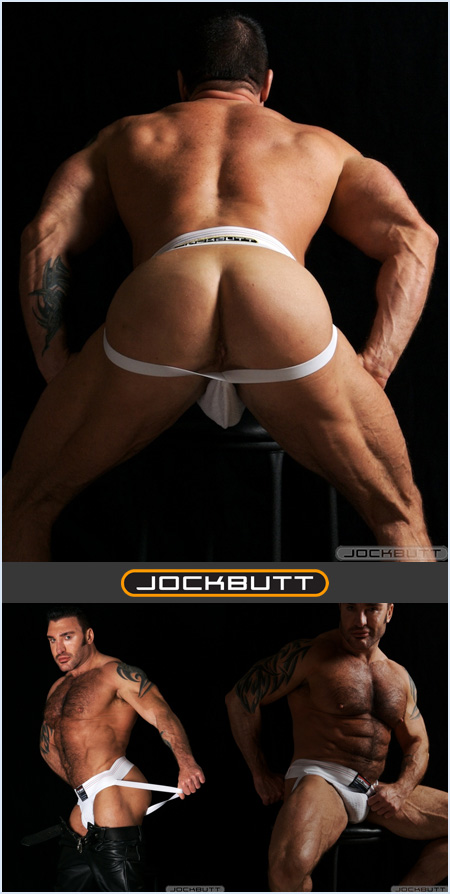 Nick Angelo in a SafeTGard Jockstrap