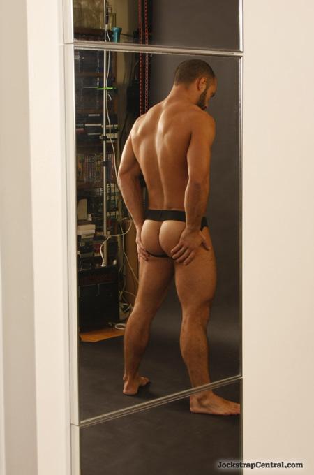 jock strap rear view
