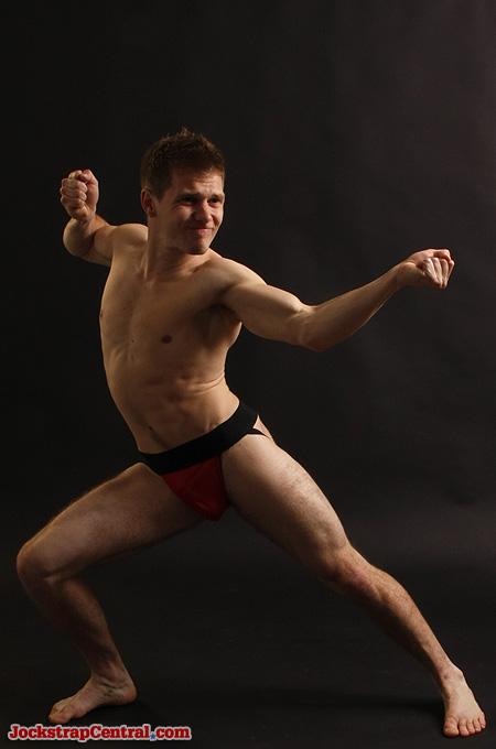 martial arts jockstrap