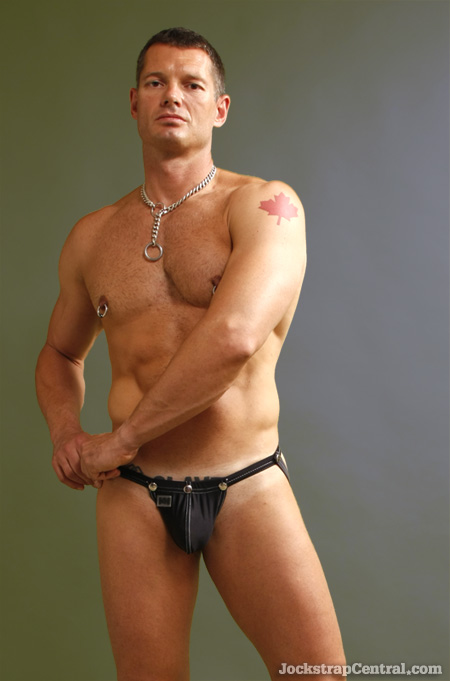 jockstrap with cock ring