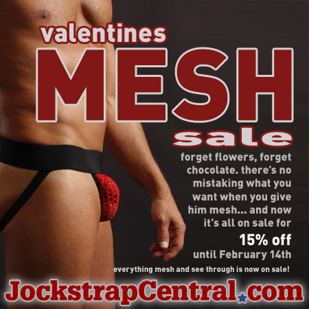 mesh jockstraps and underwear