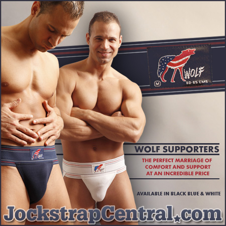 wolf athletic supporters