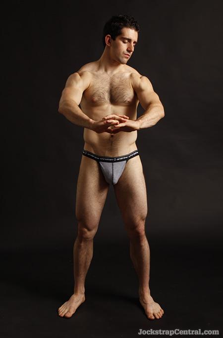 Jockstrap Central model Corey Kirk