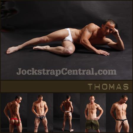 Jockstrap Central Model Thomas
