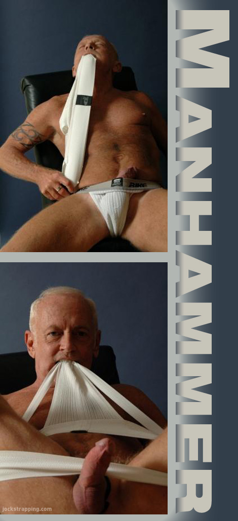 Manhammer in a Jockstrap