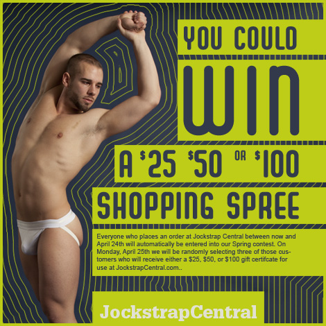 Shop for Jockstraps and Win