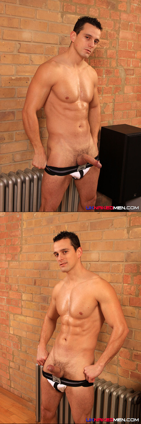 Chris Summers in a Nasty Pig Sports Jock