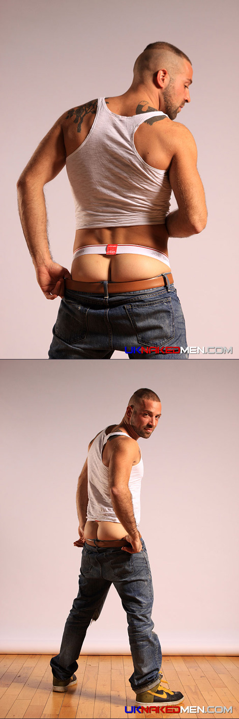 UKNakedMen model Andro in a Joe Snyder Stretch Jock