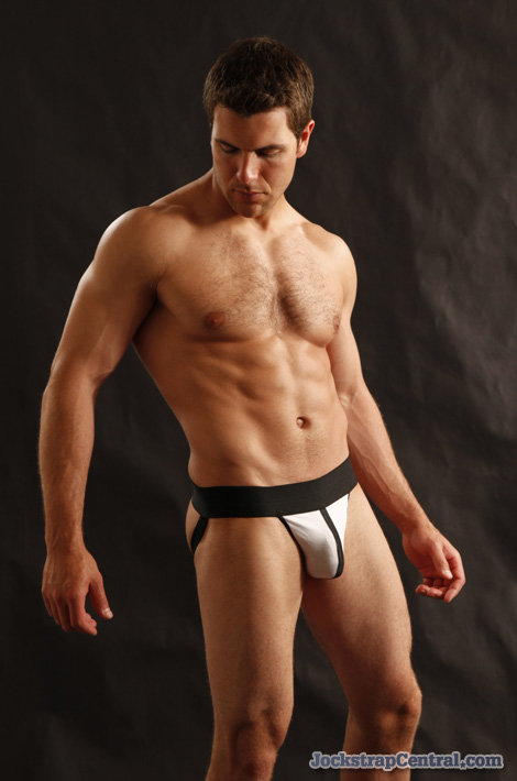 Jockstrap Central model Kevin in a DMK Vulcan Jockstrap