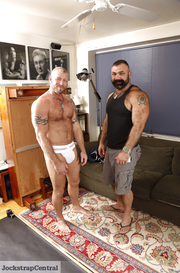Behind the Scenes at a Jockstrap Central Shoot with Chris and Patrick