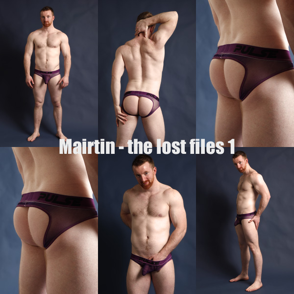 Jockstrap Central model Mairtin in Pulse Jockstrap