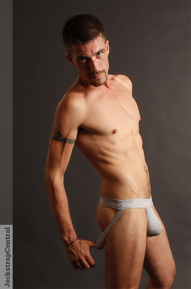 Light Grey Obviously Jockstrap