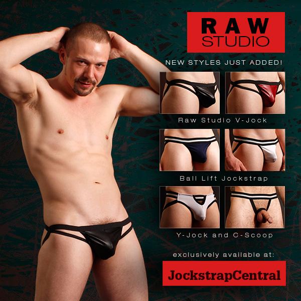 Raw Studio New Jockstrap Styles