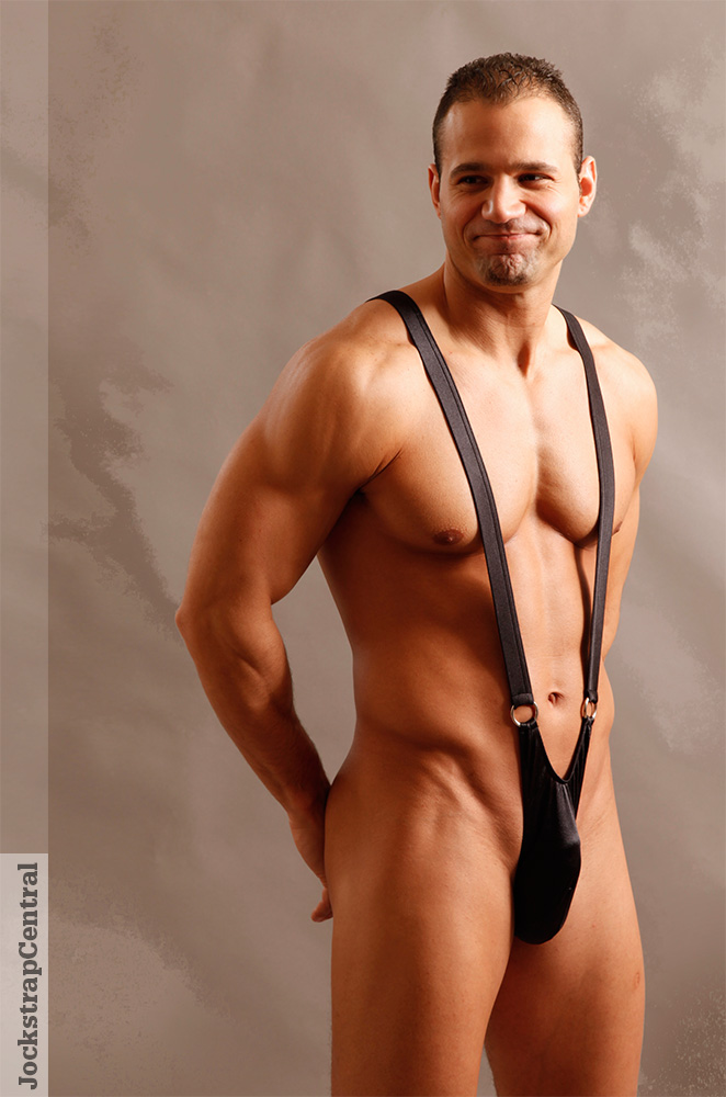 Male Power Front Ring Sling (Mankini)