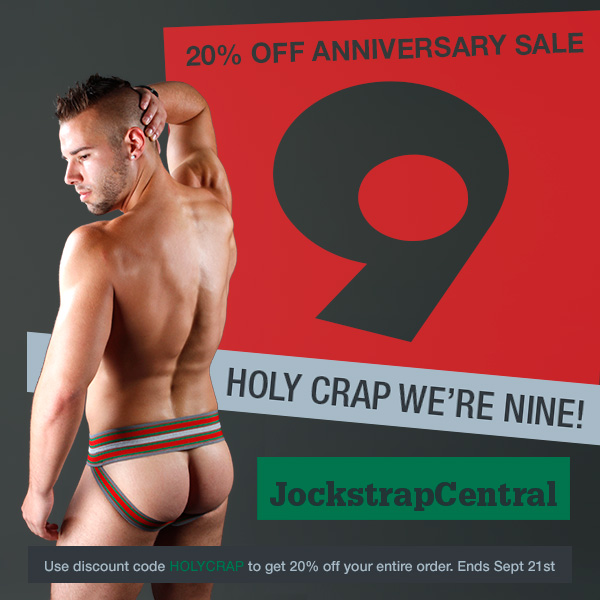 Jockstrap Central Anniversary Sale