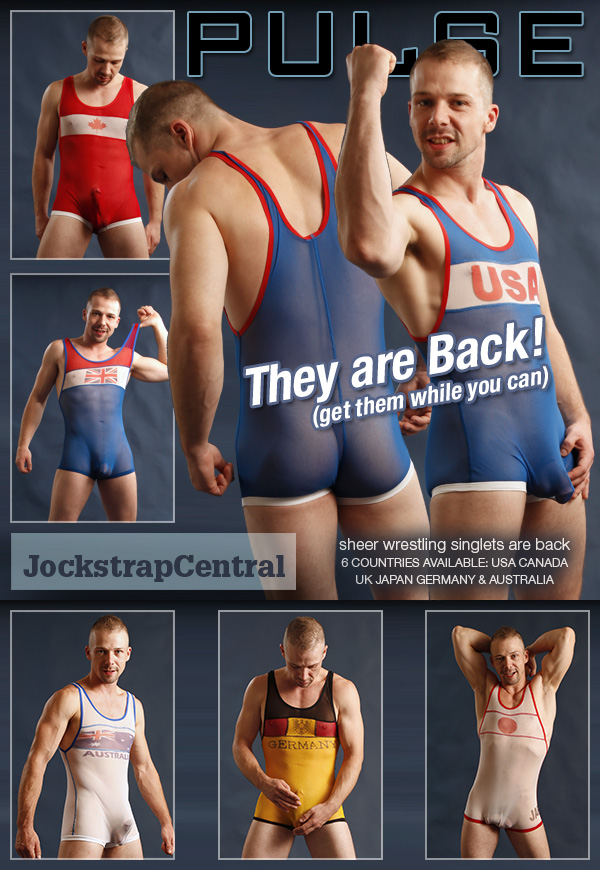 Pulse Sheer Wrestling Singlets