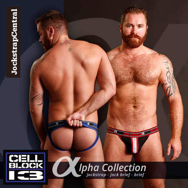 Cellblock 13 Alpha at Jockstrap Central