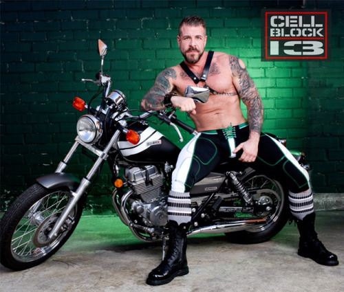 Rocco Steele, Cellblock 13 and a Motorcycle.  Sounds perfect to me.