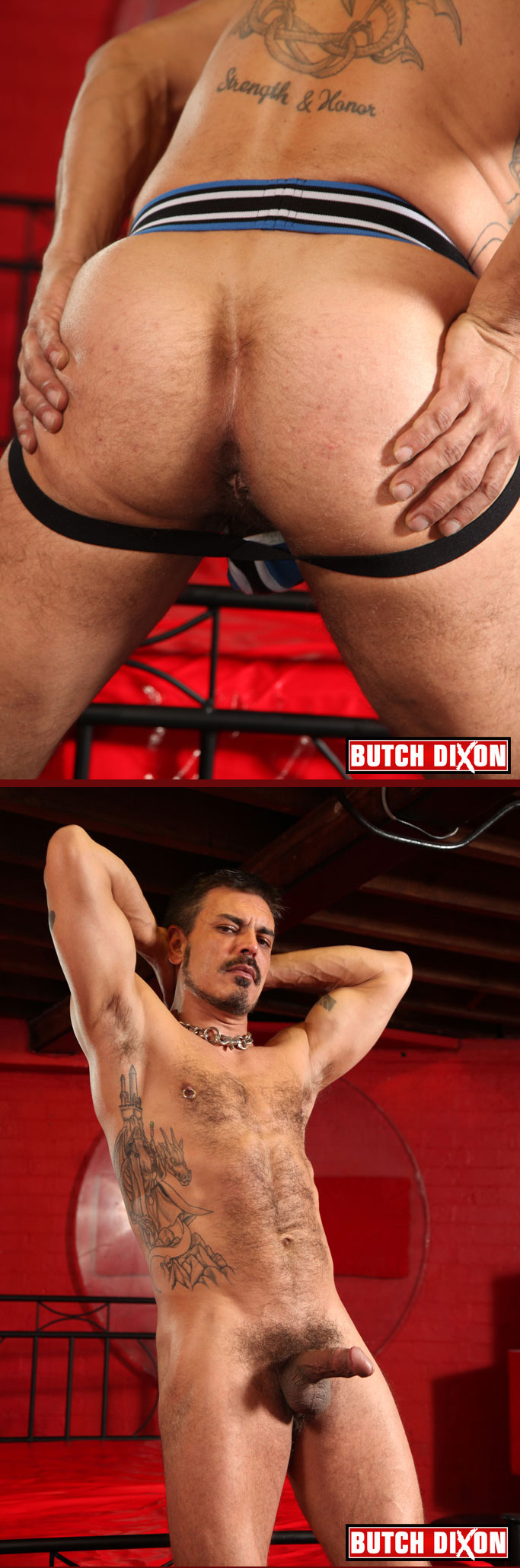 Colin Stone in a Nasty Pig Systematic Jockstrap
