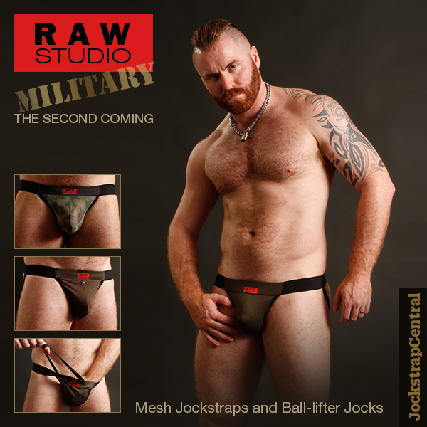 Raw Studio Military Jockstraps