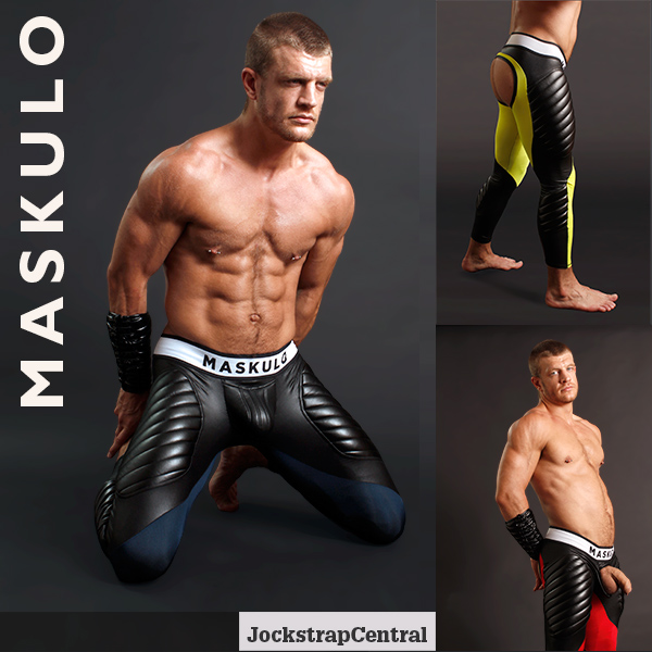 Maskulo Open Back Leggings