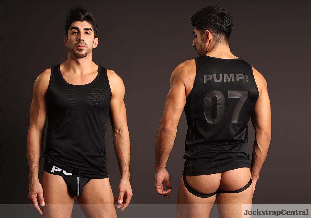 PUMP! Tanktop and Jockstrap