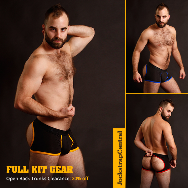 Full Kit Gear Open Back Trunk Sale
