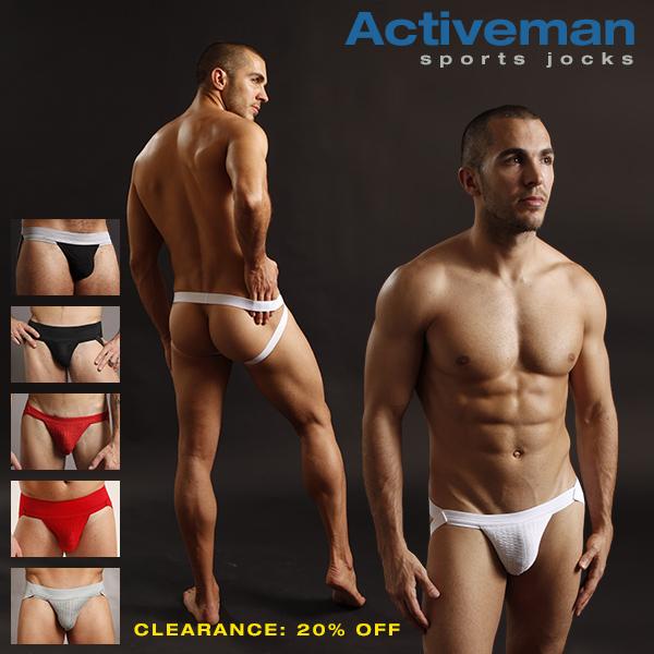 Activeman Sports Jockstrap Clearance Sale