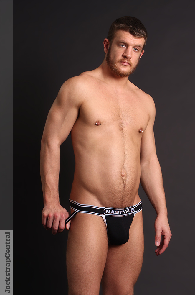 Nasty Pig Title Jockstrap and Socks