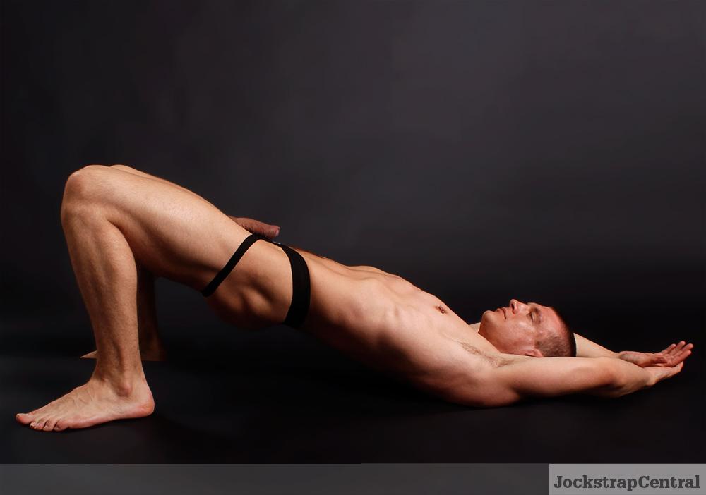 Jockstrap Central model Caleb King