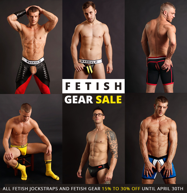 Fetish Gear Sale at Jockstrap Central