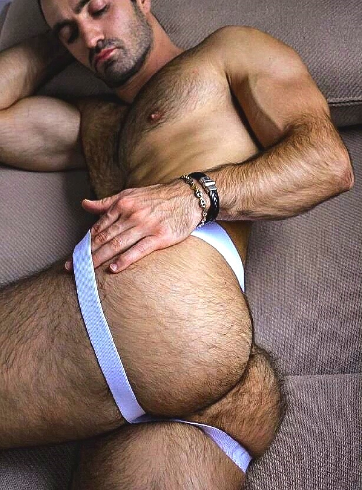 Hairy Guy in a Jockstrap