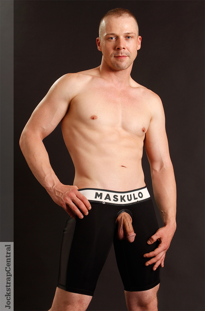 Maskulo Full Back Fetish Shorts