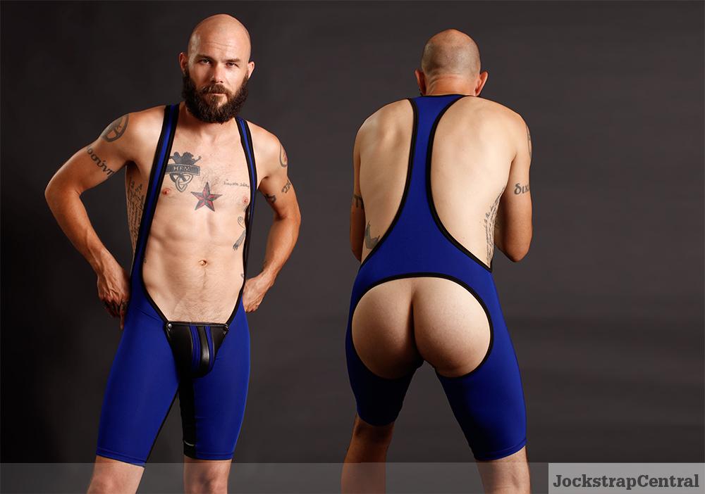 Maskulo Open Back Wrestling Singlet
