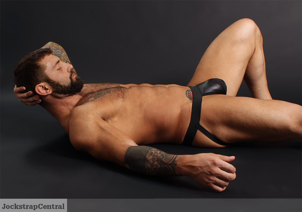 Raw Studio Maneuver Matrix Ball Lifter Jockstrap