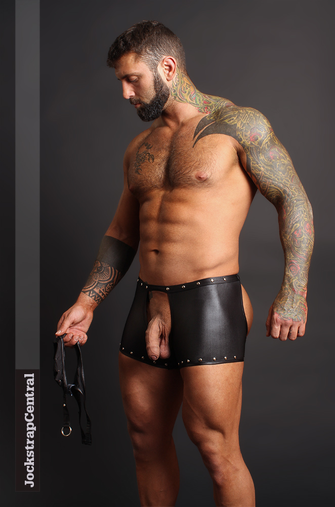 Male Power Poseidon Chaps Short