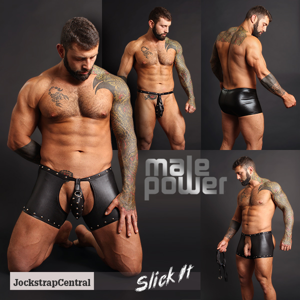 Male Power Slick It Fetish Wear