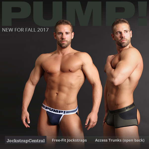 PUMP! Free-fit Jockstraps and Access Trunks