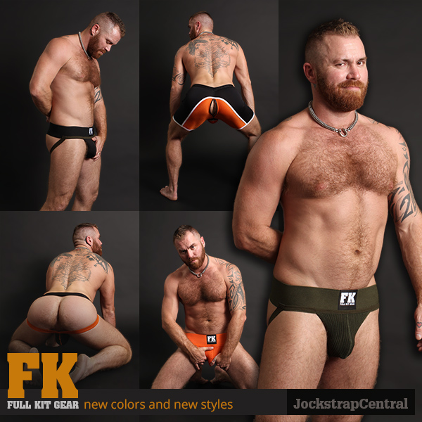 Full Kit Gear jJockstrap and Fetish Shorts