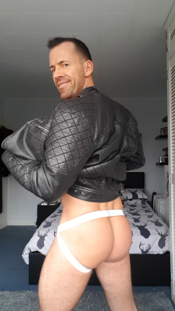 Dave London in a JC Athletic Jockstrap