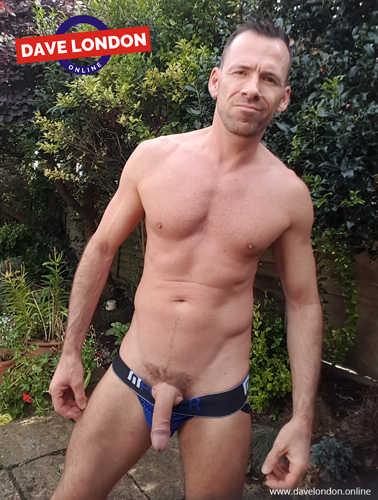 Dave London in a Male Power Jockstrap
