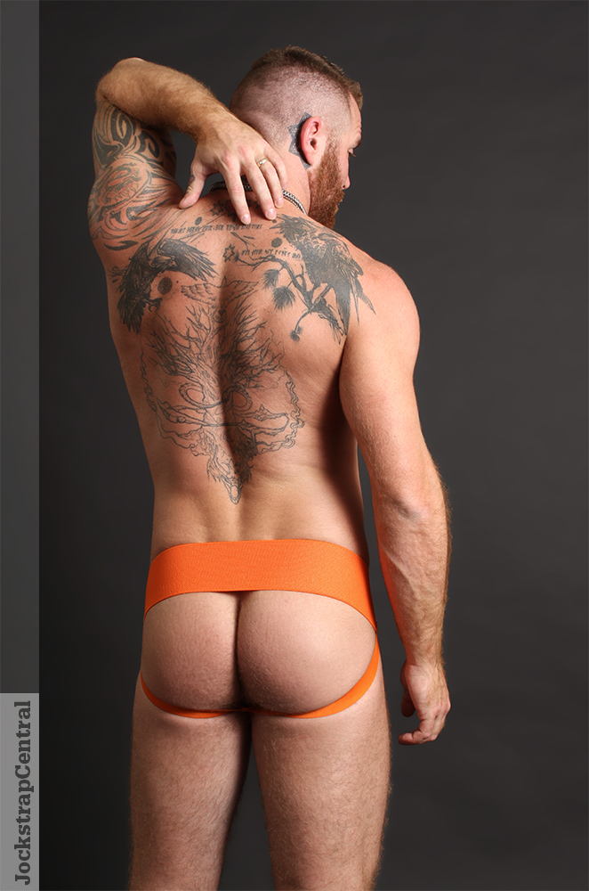 Full Kit Gear Sport Classic Jockstrap in orange