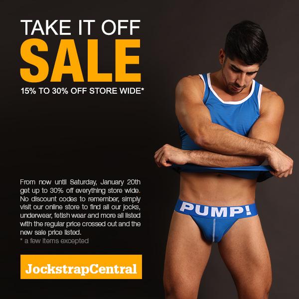Take It Off Sale at Jockstrap Central
