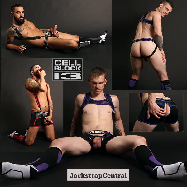 Cellblock 13 Arsenal and Apex Jocks, Trunks, Harnesses and Socks