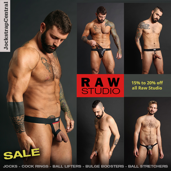 Raw Studio Sale at Jockstrap Central
