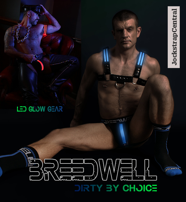 Breedwell Glow Jockstraps and Harnesses